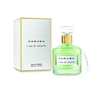 CARVEN L'EAU DE TOILETTE EDT 50ML, sem cor,