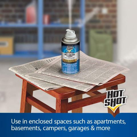 Hot Shot No Mess! Fogger With Odor Neutralizer review