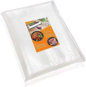 Vacuum Sealer Bags for Food,Food Saver Bags 50 Pint (6×10)& 50 Quart (8×12) PHIAKLE Vacuum Seal Bags for food storage and Sous Vide With BPA Free, Food Grade Material