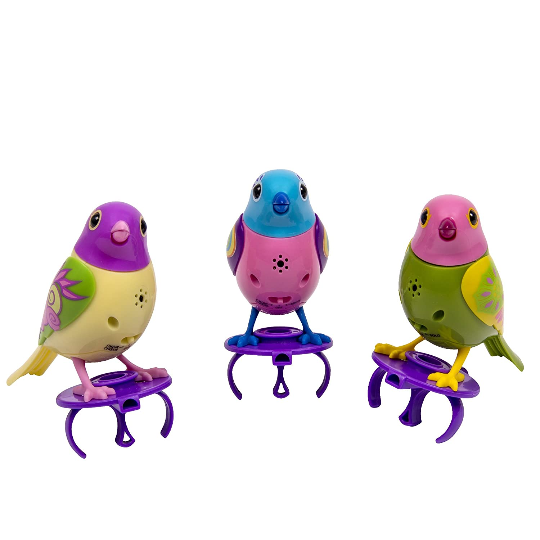 DigiBirds - 3 Pack Set of DigiBirds - Purple Set