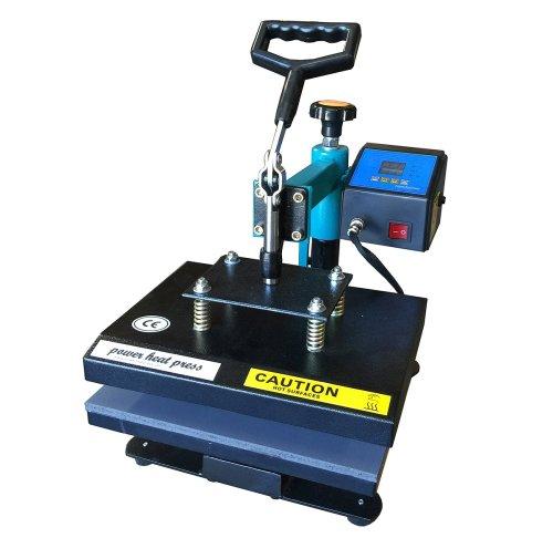 "Power Heat Press Heat Press Swing Away Heat Press 9""x12"" Coated with Sheet Sublimation heat press"