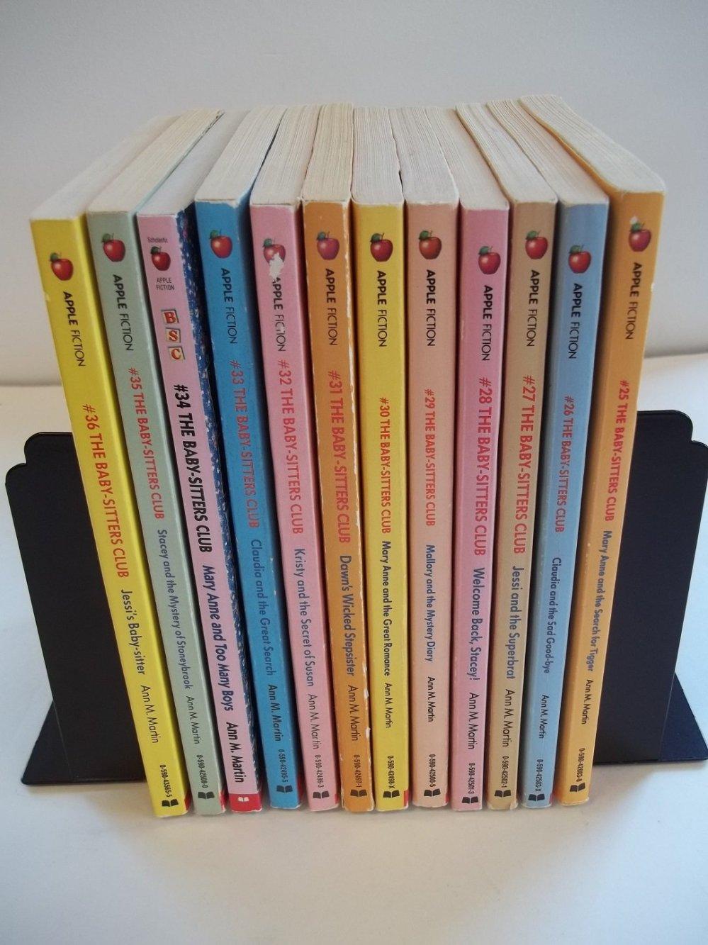 Baby-Sitters Club SET: Books 25-36: Ann M. Martin: 9780054563300 ...