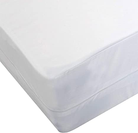 Aaf Textiles Single Bed Bug Mattress Protector Cover Anti Allergy Anti Dust Mite Zippered Encasmenet Amazon Co Uk Kitchen Home