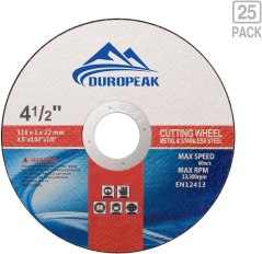 DUROPEAK 25Pack- 4.5
