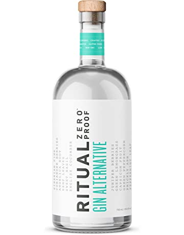 Ritual Gin Alternative | A Zero-Proof Non-Alcoholic Gin Alternative | Captures the Flavor, Aroma, and Bite of Botanical Gin | For Easy Mocktails and Alcohol-Free and Gluten-Free Cocktails