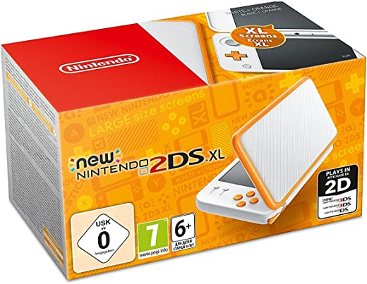New Nintendo 2DS XL Blanc/Orange