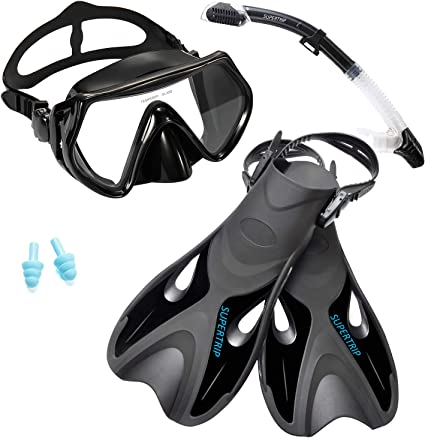 Fins, Mask and Snorkel
