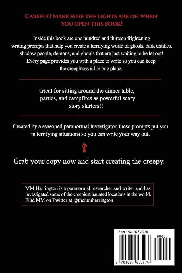 Paranormal Prompts: 10 Ghostly Writing Prompts to Help You Create
