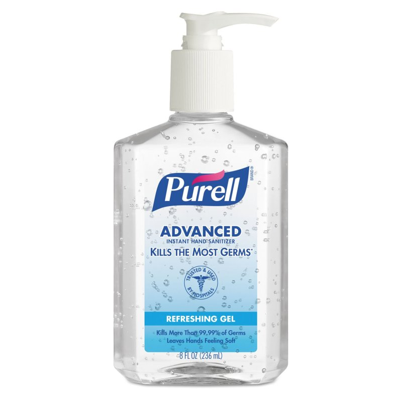 Amazon.com : Purell Pump Bottle Hand Sanitizer 8 oz. Bottle : Cheap Gloves : Beauty