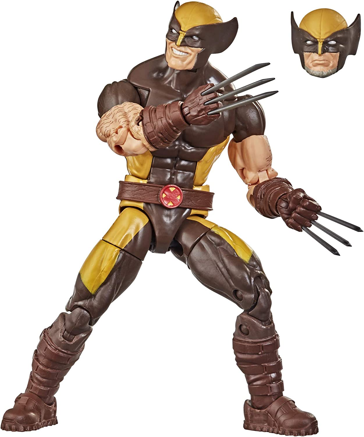 Amazon Com Hasbro Marvel Legends Series X Men 6 Inch Collectible Wolverine Action Figure Toy Premium Detail And Accessory Ages 4 And Up Toys Games