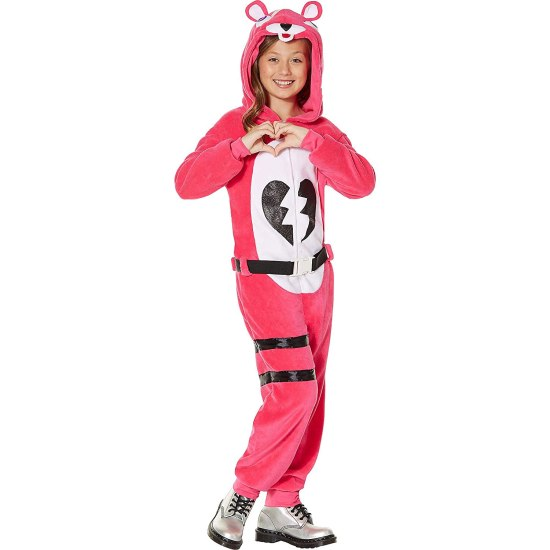 Fortnite Zipster Cuddle Team Leader One-Piece Costume