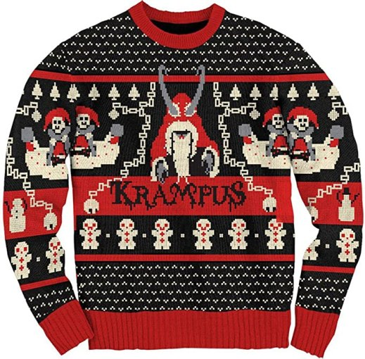 Ripple Junction Krampus Knit Ugly Christmas Sweater