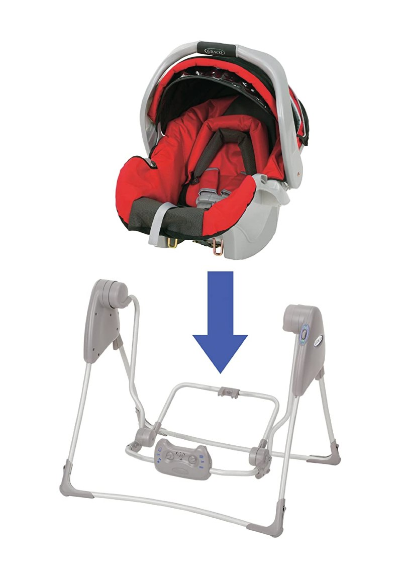 Graco Snugglider Car Seat Swing Frame | Frameswalls.org