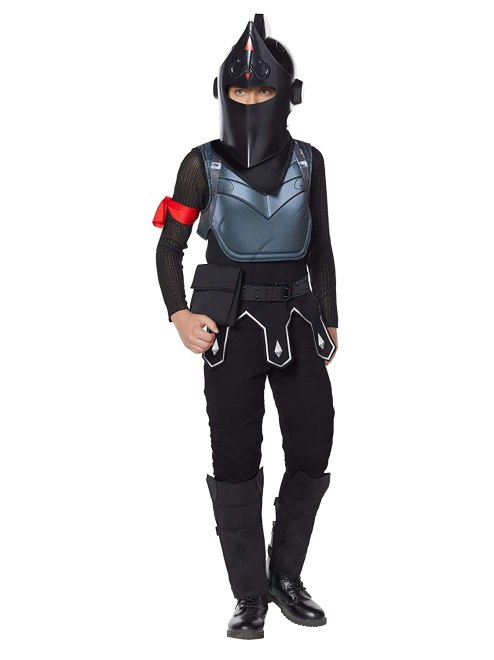 Spirit Halloween Fortnite Boys Black Knight Costume