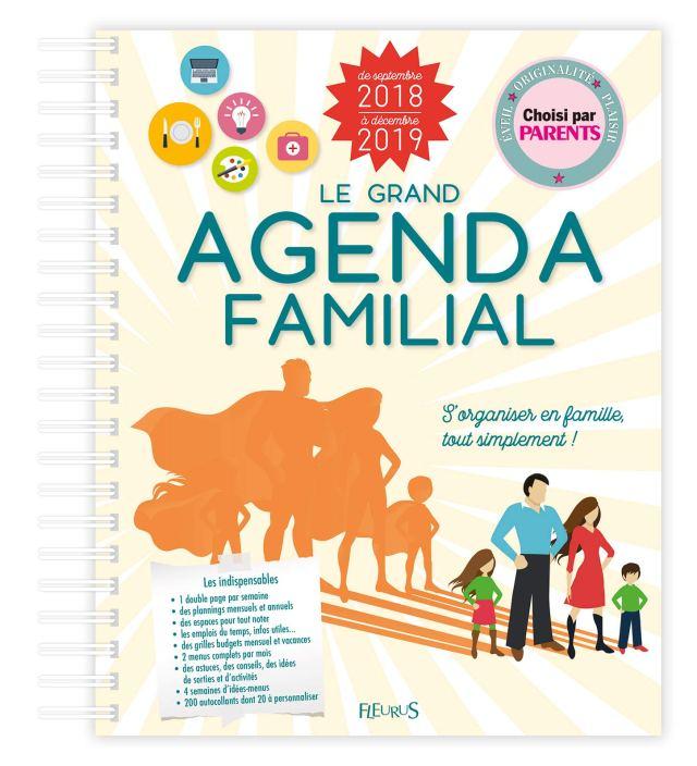 Le grand agenda familial 15-15 (LE GRAND CALENDRIER) (French