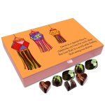 Chocholik Diwali Gift Box – Diwali is A Festival of Love Chocolate Box – 12pc
