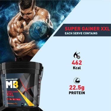 MuscleBlaze Super Gainer XXL – The High Calorie Gainer