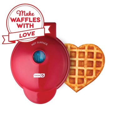 Last Minute Valentine's Day Prime Eligible Gifts - Heart Waffle Maker