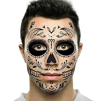 Com Black Web Sugar Skull Day