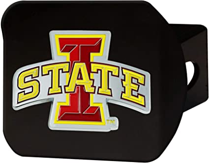 Amazon Com Fanmats Ncaa Iowa State Cyclones Color Hitch Blackcolor Hitch Black Team Colors One Sized Sports Outdoors