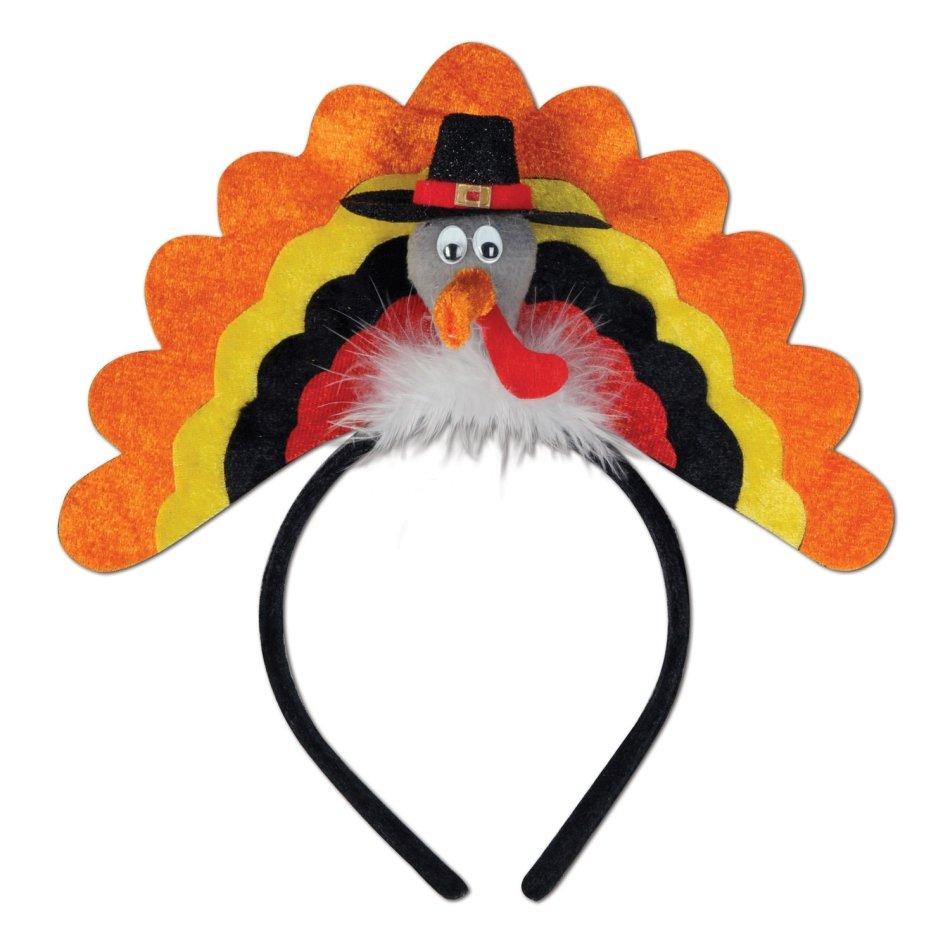 Turkey Headband Party Accessory (1 count) (1/Pkg)