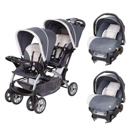 baby strollers for twins with car seat