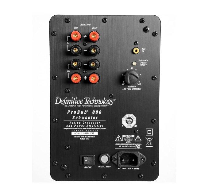 Definitive Technology ProSub 800 120v Speaker review