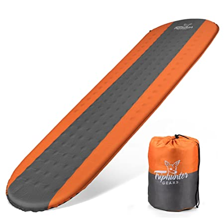 Self Inflating Sleeping Pad Lightweight & Compact Foam Padding, Waterproof inflatable Mat – Best for Camping, Hiking, Backpacking