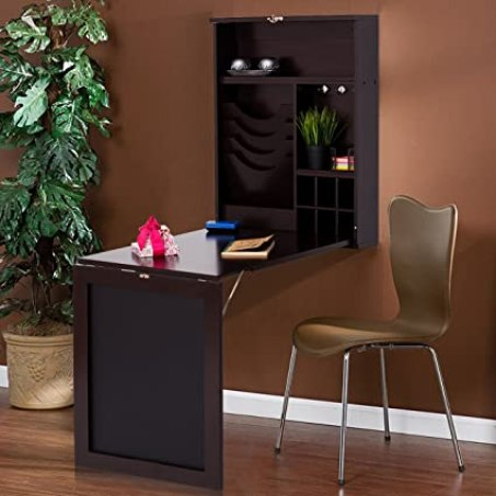 Image result for TANGKULA Wall Mounted Table Fold Out Space