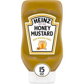 Amazon.com : Heinz Honey Mustard (15 oz Bottles, Pack of 6) : Grocery &  Gourmet Food