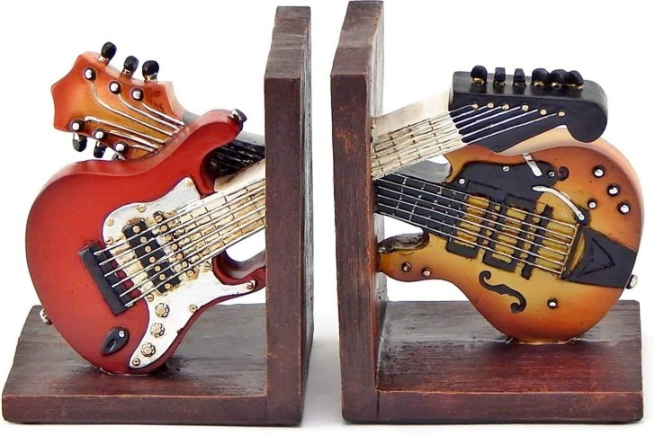 Guitar bookend