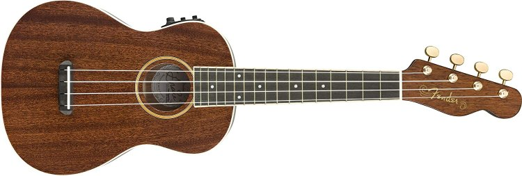 Fender Grace VanderWaal Signature Ukulele - Walnut