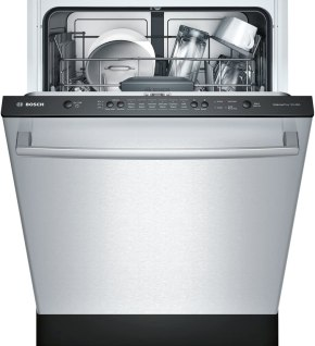 Bosch dishwasher Steel Fully Integrated Dishwasher