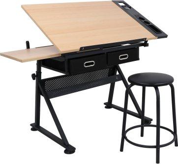 Adjustable Drafting Draft Desk Drawing Table