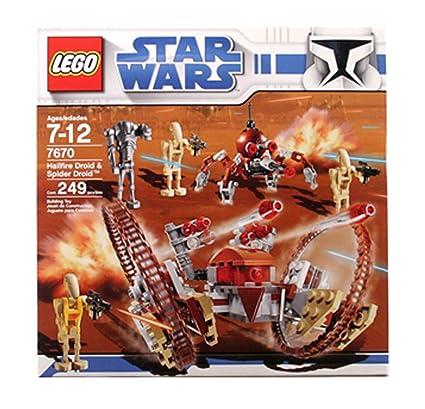 Lego Star Wars Hail Fire Droid Spider Droids