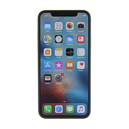 Apple Iphone X Gsm Unlocked 256gb Silver Renewed