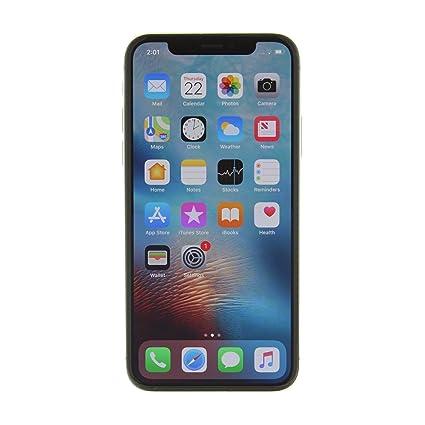 Apple Iphone X Gsm Unlocked 256gb Silver Renewed