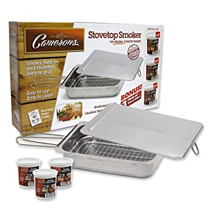 Camerons Stainless Steel Smoker Value Pack