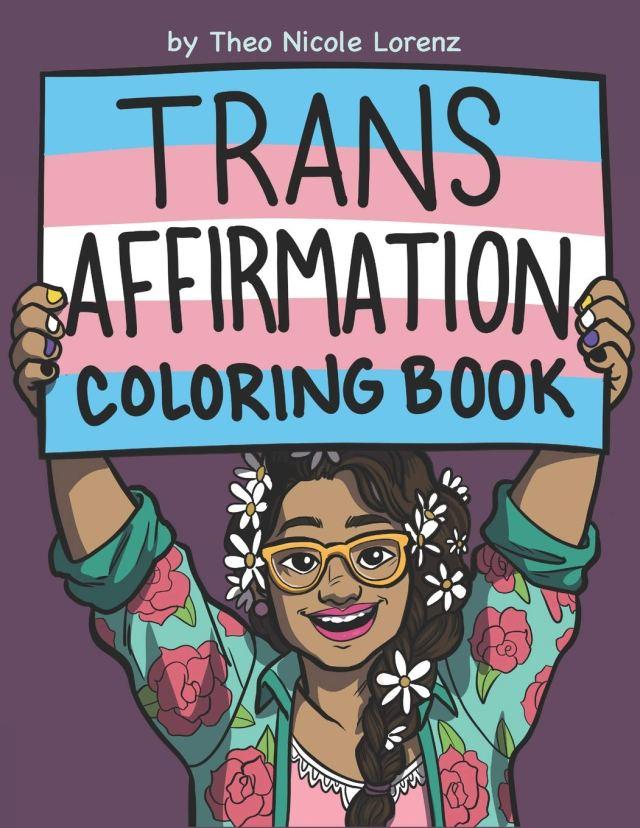 Amazon.com: Trans Affirmation Coloring Book: 27: Lorenz
