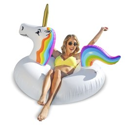 Unicorn Party Tube Inflatable Float