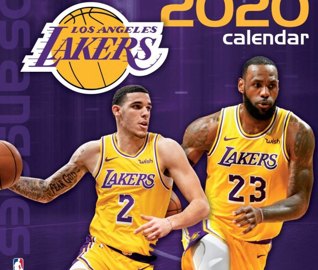 Amazon Com Los Angeles Lakers  Calendar Office Products