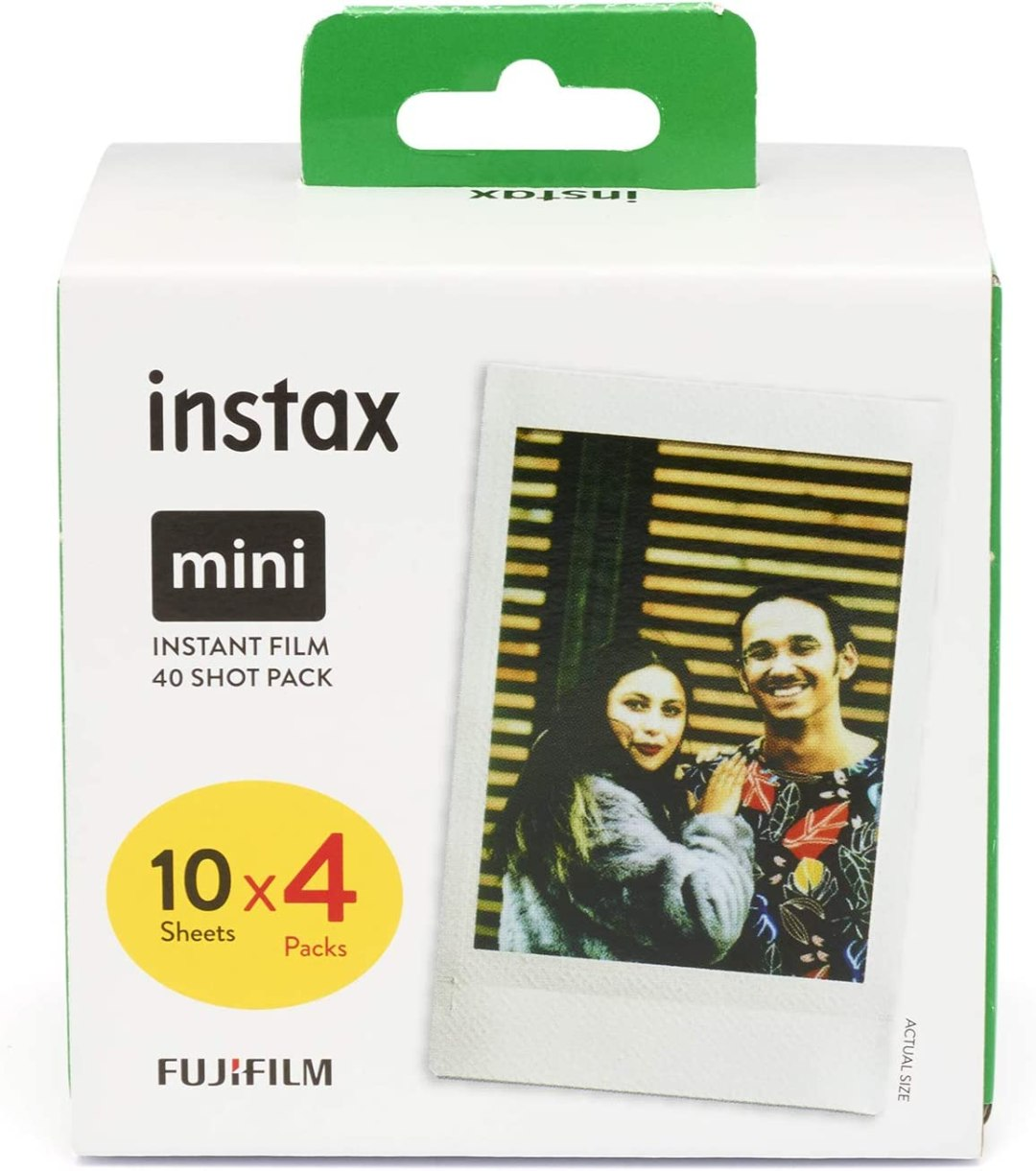 Instax Mini Film, lot de 40 photos
