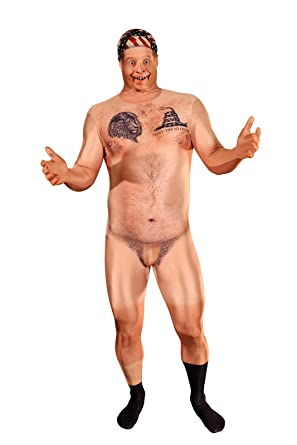 Amazon Com Morphsuits Official Censored Hillbilly Naked Man Costume This Outfit Is Very Realistic Clothing