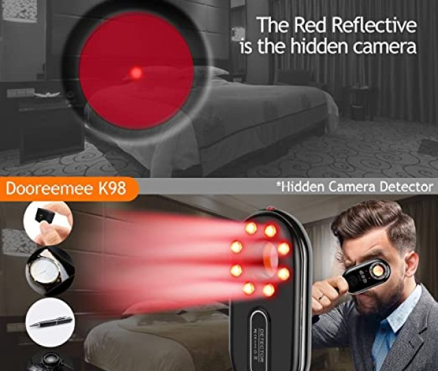 Amazon Com Anti Spy Hidden Camera Detector Infrared Portable Safesound Personal Alarm  Functionality Defense Emergency Alert With Mini Led
