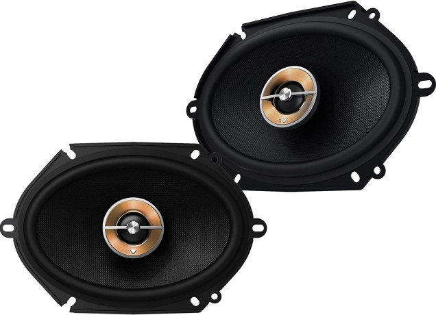 infinity 6x8'' component speakers