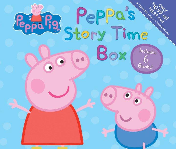 Peppa Pig Storytime Box
