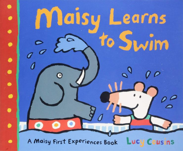 Image result for Maisy learns to swim