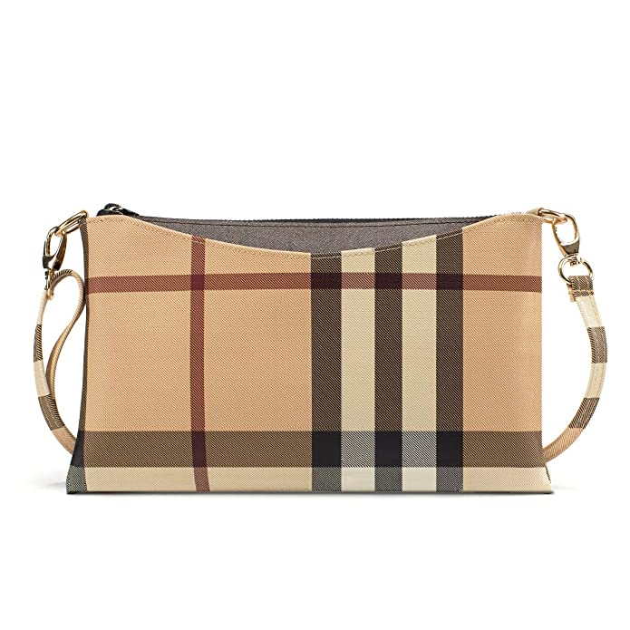 Small Checkered Crossbody Bag