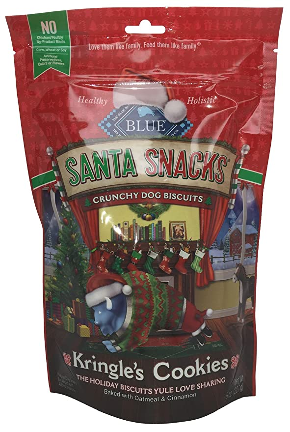 Santa Snacks Oatmeal & Cinnamon Biscuits