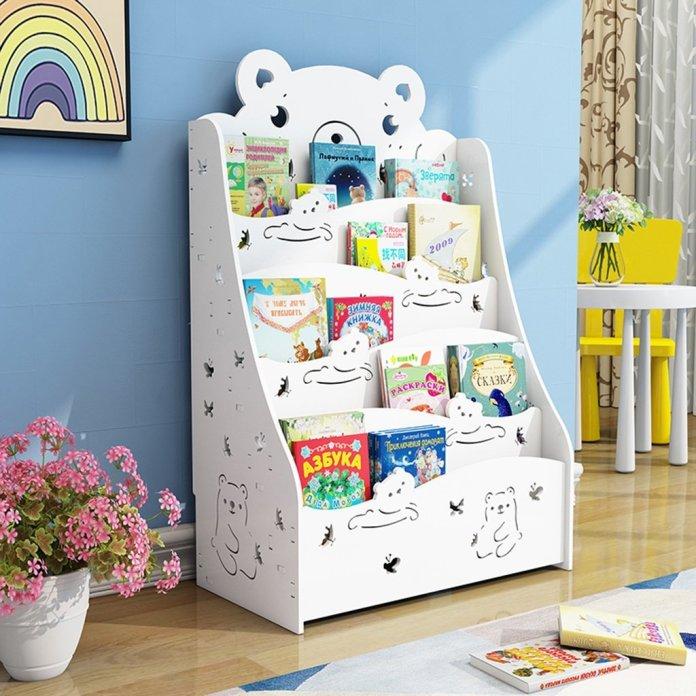 estanterías para niños
